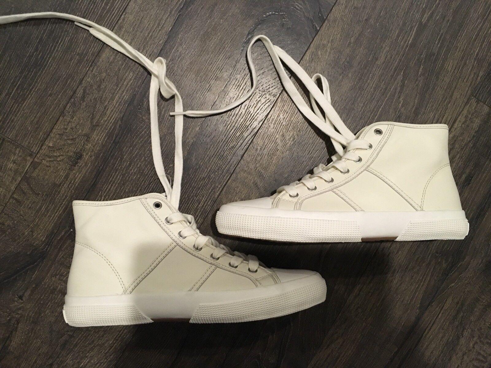 Lauren Lauren Lauren By Ralph Lauren January Women's High Top Leather Sneaker Size 7.5 B 4689a6