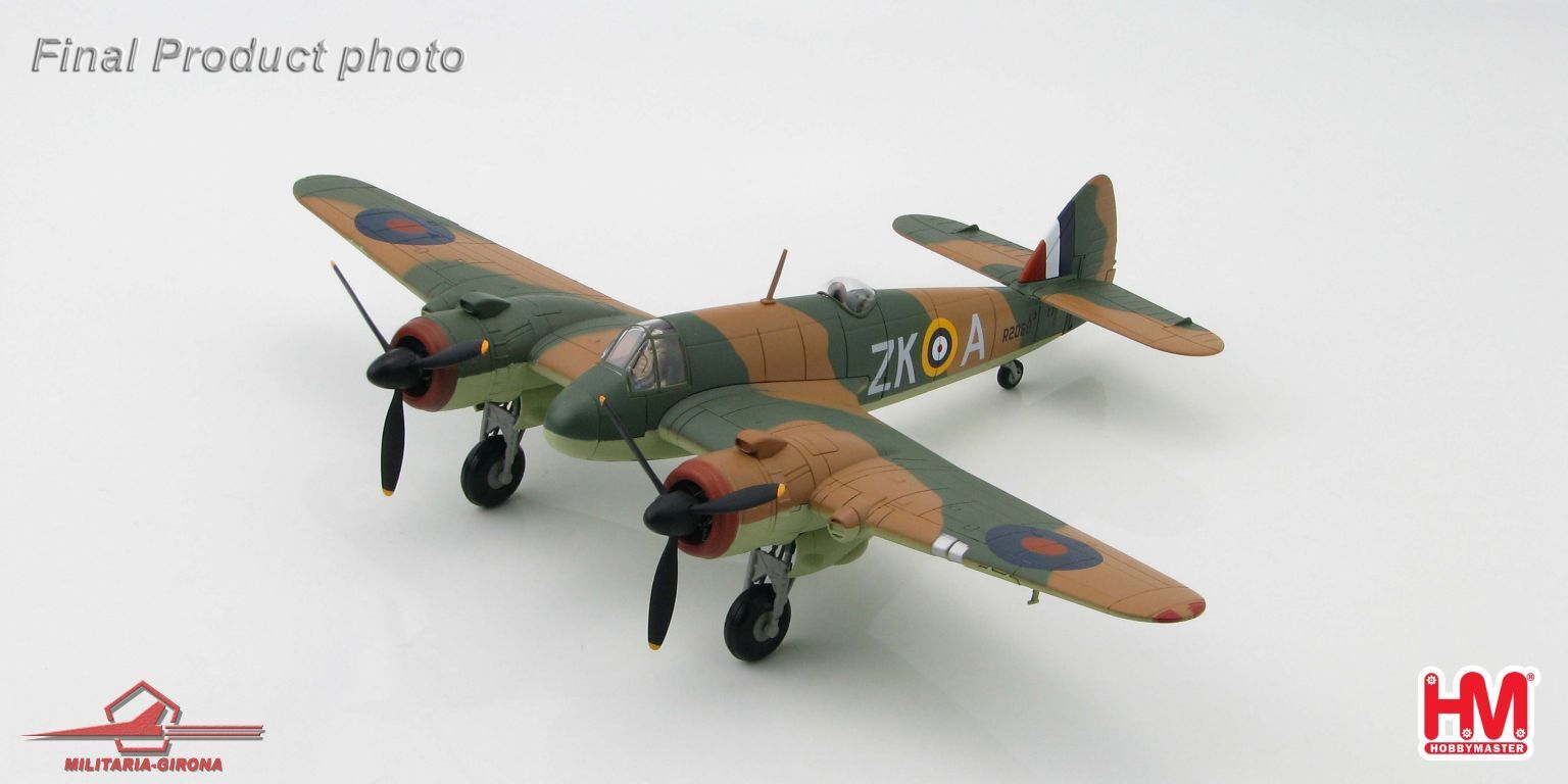 Hobby Master 1 72 HA2313 Bristol Beaufighter Mk.IF R2069   ZK-A   25Sqn,RAF 1940