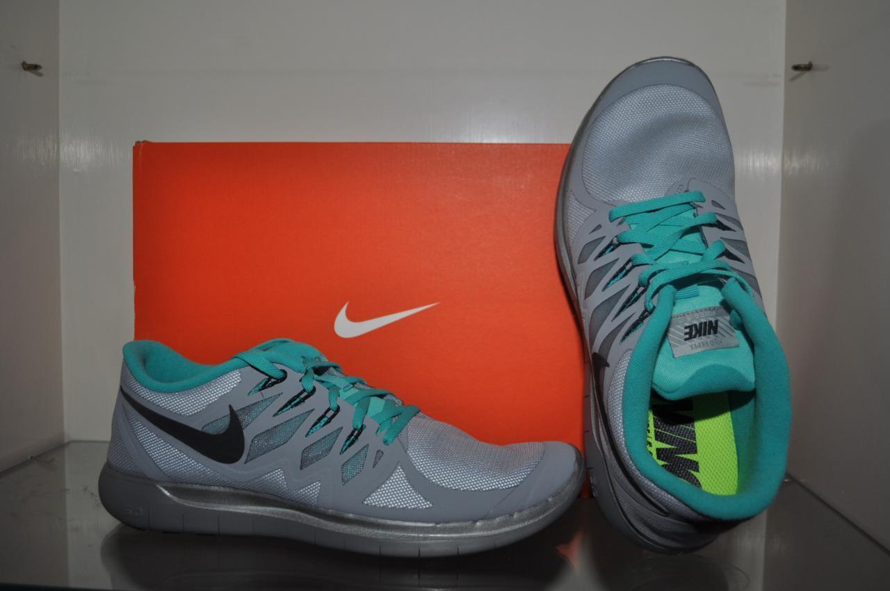 sports shoes 668b5 c2acb Nike Free 5.0 Flash Mens Training Running Running Running Shoes 685168 003  Silver Gray