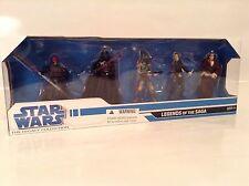 Star Wars Legends Of The Saga 5 Pack Figure Legacy Collection Boba Fett Vader