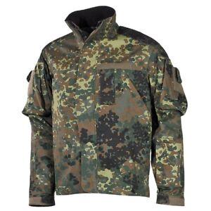 MFH-BW-Kampfjacke-Einsatz-Ubung-kurz-flecktarn-Bundeswehr-Jacke-Outdoorjacke