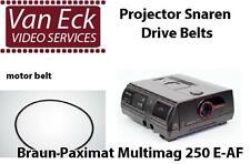 Braun Paximat Multimag 250 E-AF belt (motor belt). New belt for replacing your b