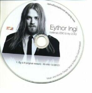 2021 Eurovision - Iceland 2013. Ég á Líf - Eyþór Ingi Gunnlaugsson. ( Promo CD's