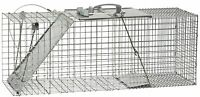 Havahart 1085 Easy Set One-door Cage Trap For Raccoons, Stray Cats, Groundhogs,