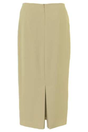 Busy Womens Beige Long Skirt