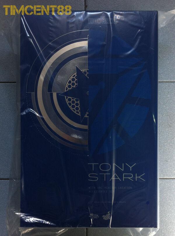 Hot Toys MMS273 Iron Man Tony Stark Downey avec Arc Reactor Creation Accessories