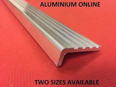 Aluminium Angle Roof Plate edge protection profile 2 Metre Anthracite Angle Bar Natural