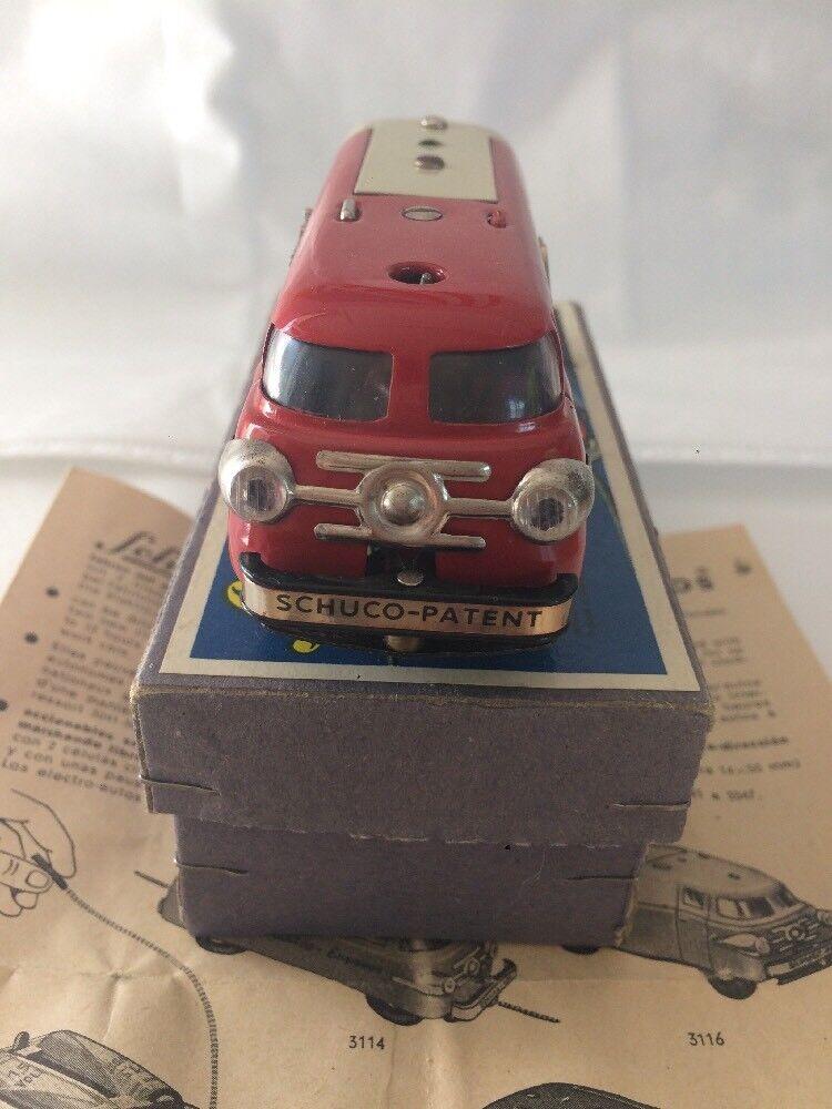 Schuco Varianto Elektro no. 3114 In Super Condition  Car With Box And W. Germany