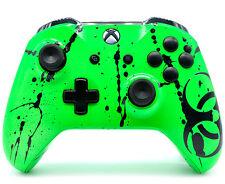 """Toxic Green"" Xbox One S Custom UN-MODDED Controller Unique Design"