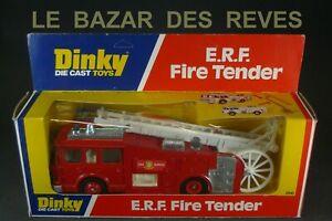 DINKY-TOYS-GB-E-R-F-Pompiers-echelle-depliable-REF-266-Boite