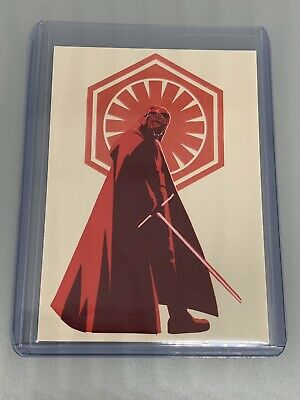 #ROSP-2 Exclusive Poster Trading Card Topps STAR WARS THE RISE OF SKYWALKER