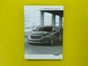 taurus   ford owners owners manual oem ebay