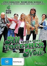 All-Together-Now-Series-THREE-DVD-2014-4-Disc-Set-New-JON-ENGLISH