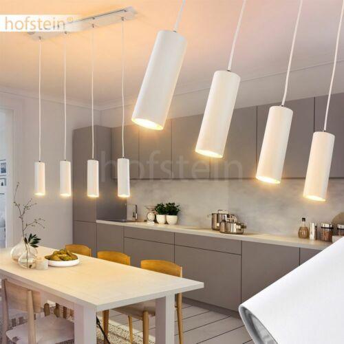 Hänge Lampen Ess Wohn Schlaf Zimmer Beleuchtung 4-flammige Pendel Leuchten weiß