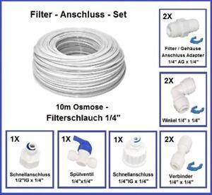 Ensemble de connexion de filtre - Système d'osmose inverse filtre à eau côté réfrigérateur