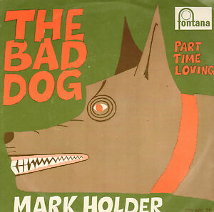 MARK-HOLDER-The-Bad-Dog-ULTRA-RARE-REGGAE-VINYL-SINGLE-7-034-DUTCH-PS