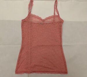 Intimissimi-pink-lace-Camisole-Top-sleepwear-nightwear-size-L