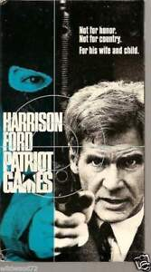 Patriot Games 1992 Vhs 97363253037 Ebay