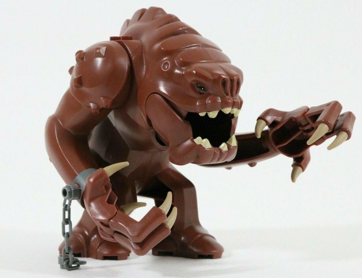 RARE Lego Star Wars Rancor bigfig créature 75005 rancor pit très bon état