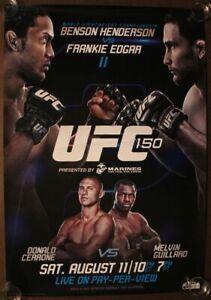 UFC 204 Bisping vs Henderson Art Silk Poster 13x20 24x36 inch