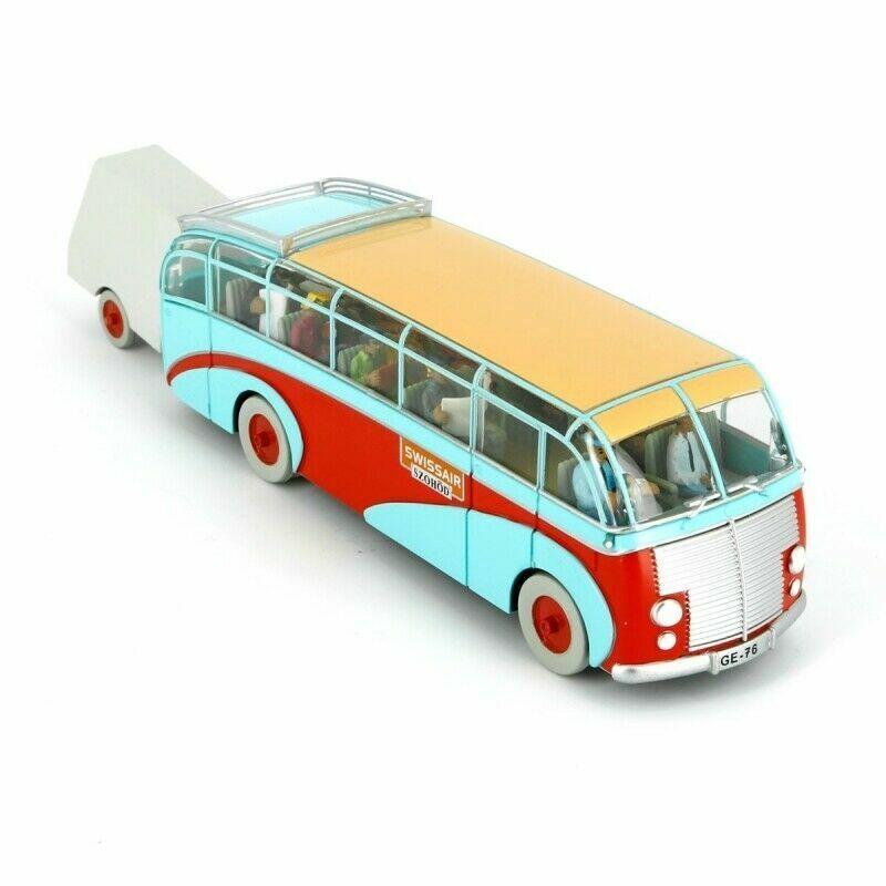 Kollektiv bil Tintin Swissair busss Calculus Affair No2 29581 Nya och förseglade