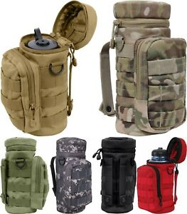 Image is loading Tactical-MOLLE-Water-Bottle-Carrier-Pouch-Holder-Military- 816bfb1c953