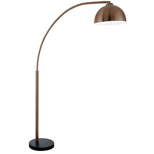 Giraffe Copper Free Standing Standard Floor Lamp With Dome Shaped ...
