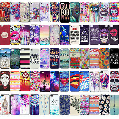 Fashion Cute Design Pattern Hard Back Case Cover For Apple iPhone 4S 5S 5C 6