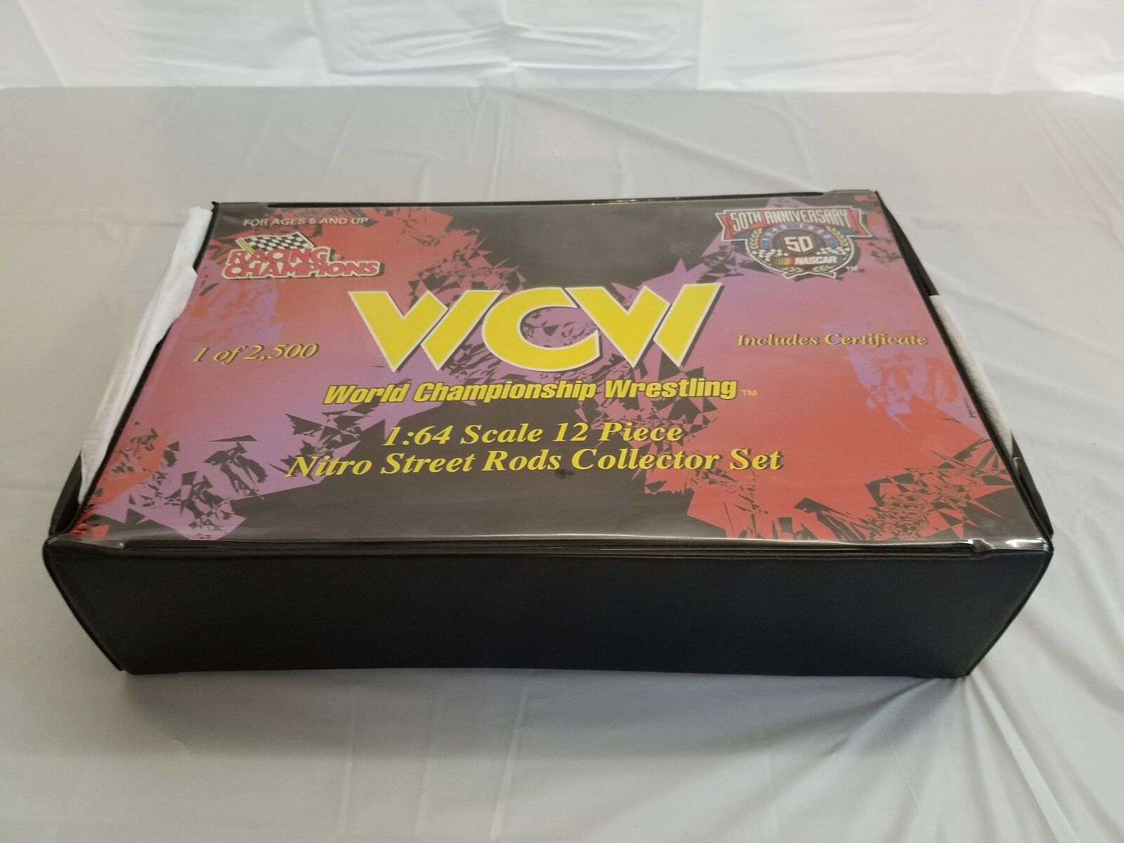 WCW Racing Champions WCW Wrestling 1 64 12 Car Nitro Street Rods Collector Set