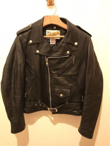618 perfecto schott 36 steerhide leather double mo