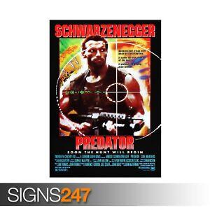 PREDATOR-CLASSIC-80S-ZZ052-MOVIE-POSTER-Photo-Poster-Print-Art-All-Sizes