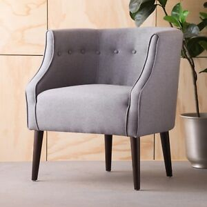 Image Is Loading Davidson Tub Design Upholstered Accent Chair