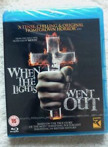 72436 Blu-ray - When The Lights Went Out [NEW / SEALED]  2010  REVB3040