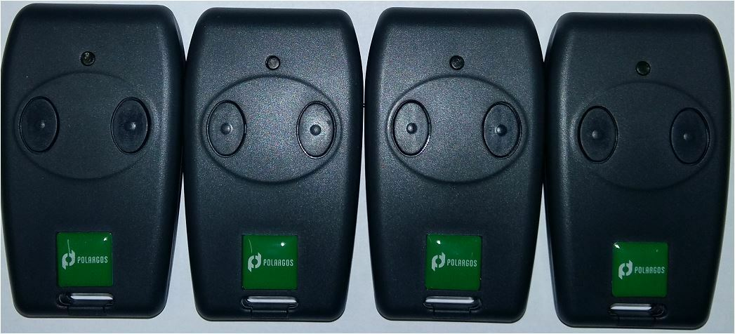 4er Fernbedienungen Polargos Easy Way Somfy SGS 201 202 Freevia, Handsender