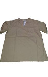 Medical-Nursing-Men-Women-Unisex-Scrub-Tops-Hospital-Clinic-Uniform
