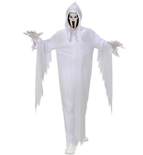 Per Bambini Bianco Fantasma ROBE Halloween Costume Vestito 158Cm 11-13 Anni
