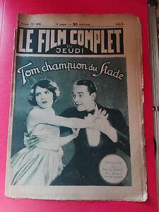 price reduced new products factory outlets Détails sur Revue Cinéma - Le Film Complet du Jeudi - Tom Champion du Stade  - 04/08/1927