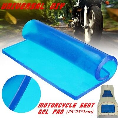 25 eamqrkt Comfort Motorcycle Seat Gel Pad Shock Absorption Mats Cushion Accessories,25 1cm