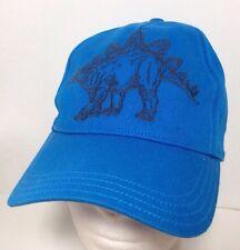 Stegosaurus Snapback Hat Cap I'm Big Time Gymboree Large L Blue