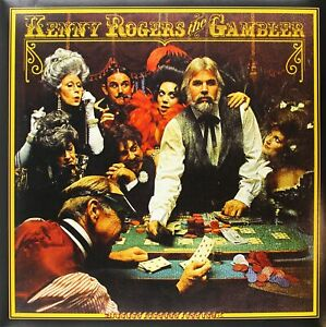 KENNY ROGERS THE GAMBLER ALBUM COVER POSTER 24 X 24 Inches ...