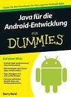 Java für die Android-Entwicklung für Dummies von Barry Burd (2014, Taschenbuch)