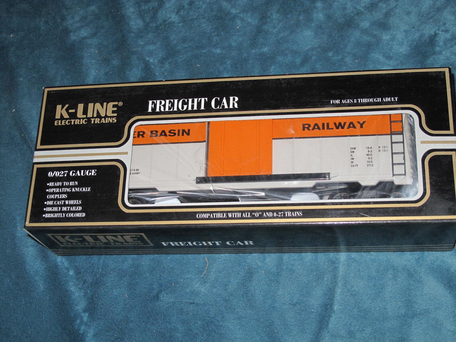 1999 K-Line  K641-9024 TTOS National Classic Box Car NIB L2040