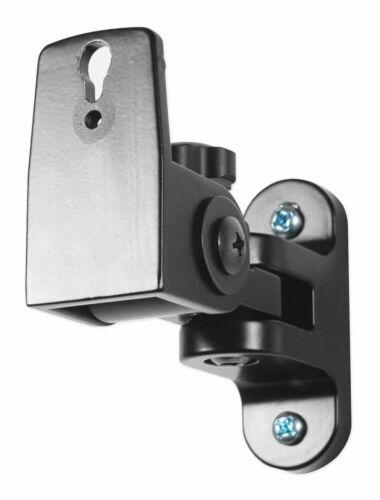 2 Hidden Wall Mount Swivel Brackets For Presonus Eris E4.5 Studio Monitors