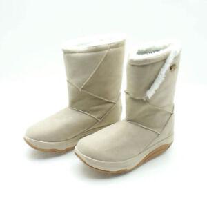 WALKMAXX-Winterstiefel-Fitness-Boots-Gesundtheitsschuhe-Fitness-beige
