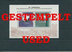 Germany-Federal-Frg-vintage-yearset-1995-Block-31-Postmarked-Used-More-Sh-Shop