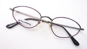 Brillengestell Brille Frauen Fassung kleine Cateye lila by Christian Roth size M