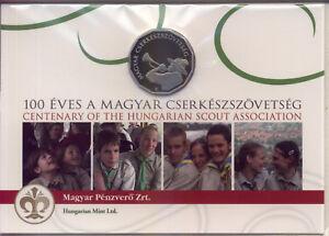 Ungarn-100-Forint-2012-PP-Pfadfinderbewegung-in-Originalverpackung