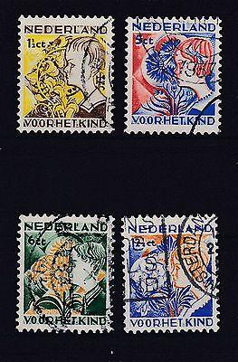 Niederlande 1932 Gestempelt Minr. 253-256 //1 Motive Reichhaltiges Angebot Und Schnelle Lieferung