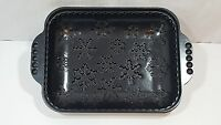 Nordic Ware Snowflake 8.5x11inch Cast Aluminum Cake Pan Non-stick Surface
