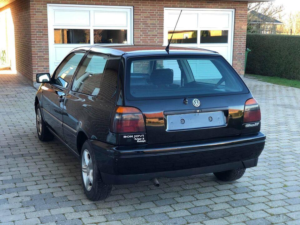 VW Golf III, 1,4 CL, Benzin